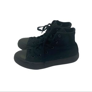 CONVERSE CHUCK TAYLORS BLACKED OUT SHOES